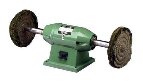 Poliermaschine mit Schwabbelscheiben.png