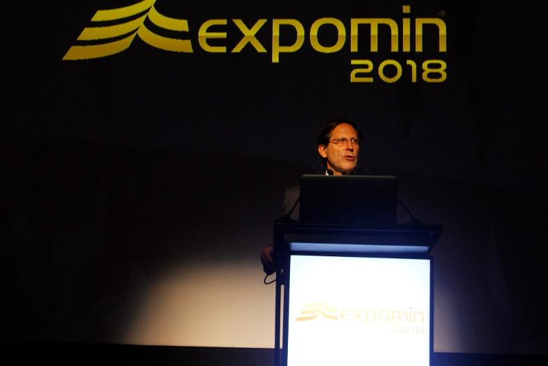Ivan Arriagada auf der Expomin