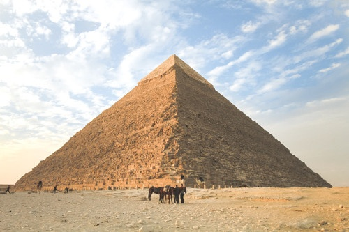 first engineer built pyramids