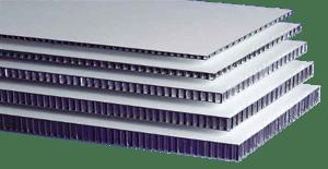 Aluminium-Sandwichplatten