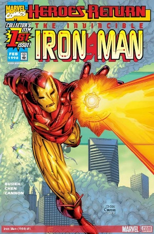 Marvel Comics_Iron Man 1998 1