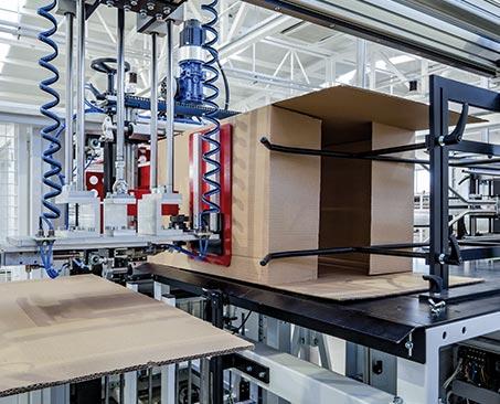 Machine Building – Application Segment | RINGFEDER®